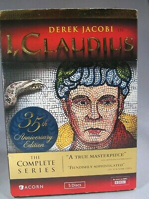 I, Claudius On DVD !missing Disk 1 Episodes 1  Has Disk 2,3,4 Episodes 2 - 12 • 10.64£