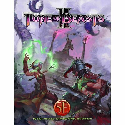 AU98.95 • Buy Kobold Press Tome Of Beasts 2 Hardcover For 5th Edition