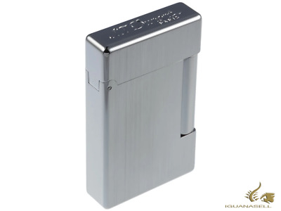 AU635 • Buy S.T. Dupont Initial Lighter, White Bronze Brushed, Silver, 20804