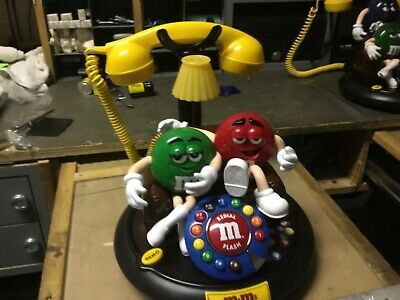 $70 • Buy M&Ms Red Green M&M Animated Telephone Lights Up And Talks