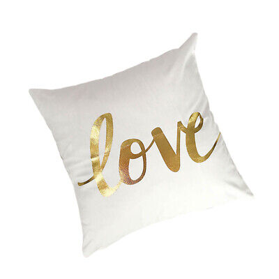 1pc Cushion Cover Couch LOVE Cushion Cover For Home Living Room Bedroom Dorm • 5.86£
