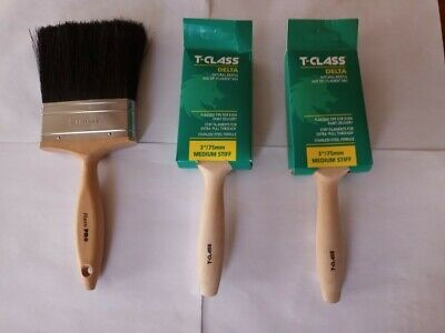 £15.99 • Buy 1 Harris Pro 4  Ànd 2  T-class Delta 3  Inch Paint Brushes By Harris