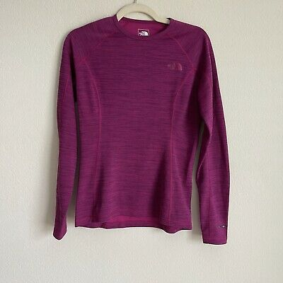 £17.90 • Buy The North Face FlashDry Base Layer Top Womens S Purple Long Sleeve Crew Neck