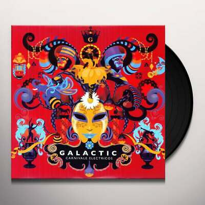 Galactic CARNIVALE ELECTRICOS Anti- Records NEW SEALED BLACK VINYL RECORD LP • 15.76£
