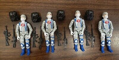 $ CDN150.64 • Buy  Gi Joe Cobra Trooper Vintage Style Black Major CUSTOM ARCTIC TROOPER LOT X4