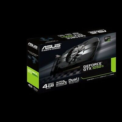 $ CDN299.99 • Buy New ASUS Phoenix GeForce GTX 1050 Ti 4GB GDDR5 PH-GTX1050Ti-4G VIDEO CARD