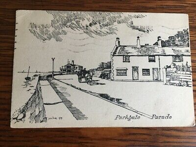 £6.50 • Buy C20th Postcard Parkgate Parade -Sent To Mrs Pixton, Shakespeare Rd, NW London