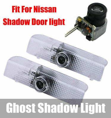 $14.85 • Buy LED Car Door Welcome Laser Projector Logo Courtesy Ghost Shadow Light For Nissan