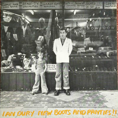 Ian Dury - New Boots And Panties!! (LP) • 4.50£