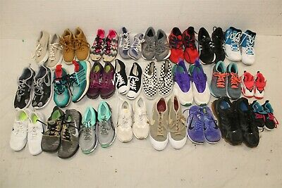 $ CDN139.23 • Buy Sport Sneakers Shoes Lot Wholesale Used Rehab Resale 33 Lb Collection Nike Vans