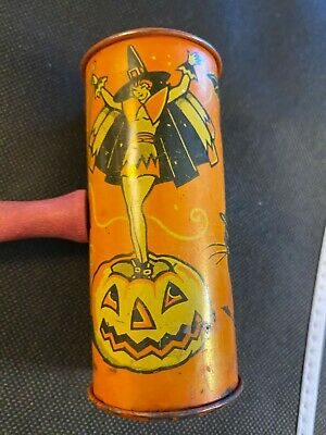 $ CDN38.06 • Buy Vintage Older Tin Halloween Noisemaker Kirchhof Made In The USA