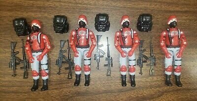 $ CDN150.64 • Buy  Gi Joe Cobra Trooper Vintage Style Black Major CUSTOM Moray Troopers Lot X4