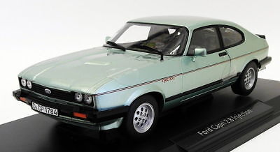 Norev 1/18 Scale 182719 - 1982 Ford Capri 2.8 Injection - Metallic Lgt Green • 99.99£