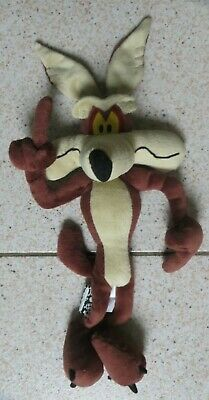 Looney Tunes Wile E Coyote Soft Plush Toy From Roadrunner WBros By Boots • 5.89£