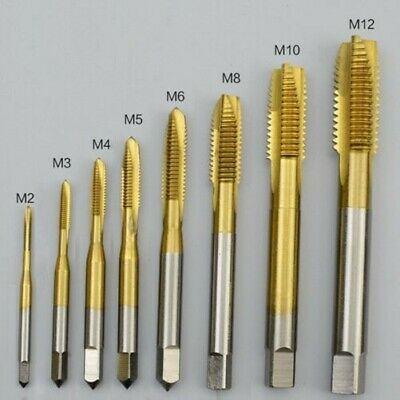 $16 • Buy M2 - M16 Titanium Coated HSS Spiral Point Tap Select Size