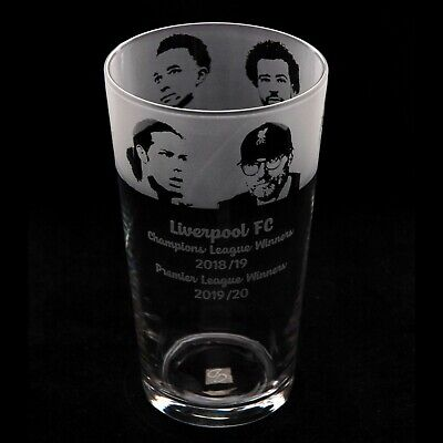 Liverpool FC - Engraved Pint Glass | Gift - Present • 15.99£