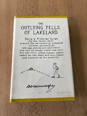 Wainwright Pictorial Guide To The Outlying Lakeland Fells Sixth Impression  • 30£