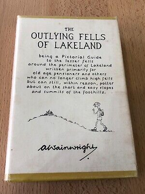 Wainwright Pictorial Guide To The Lakeland Outlying Fells First Impression  • 150£