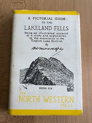 Wainwright Pictorial Guide To The Lakeland Fells North Western Fells First Imp • 150£