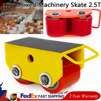 $39.01 • Buy 2.5T 5500lb/2500kg Machinery Mover Heavy Machine Dolly Equipment Roller Skates