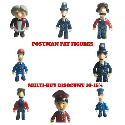 £6.99 • Buy Postman Pat Figures Toys Ted Glen Ajay Mrs Goggins PC Sel *Please Pick From List