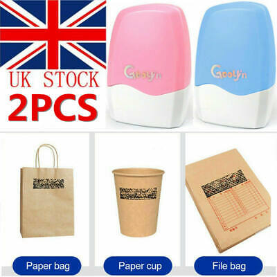 2Pcs Theft Protection Guard Your Data Identity Privacy ID Security Stamp Roller • 6.99£