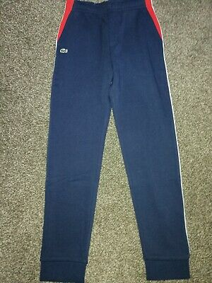 Boy's Lacoste Skiny Tracksuit Bottoms 12 Years RRP £80 • 40£