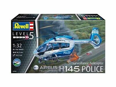 REVELL Airbus H145 Police Surveillance Helicopter • 23.99£