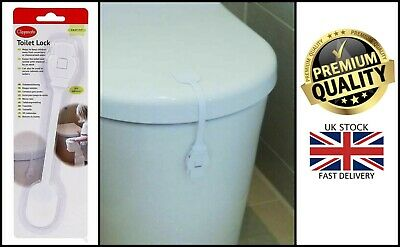£2.45 • Buy New Clippasafe Toilet Seat Lock Self Adhesive Home Safety Baby Proofing Measure