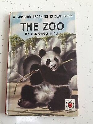 Vintage Ladybird Book The Zoo EXCELLENT CONDITION!! Series 563 • 6£