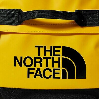 The North Face Base Camp Duffel Sports Bag M (Summit Gold Black) Medium • 80£