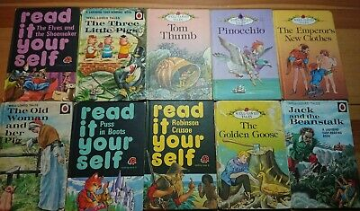 Vintage Well Loved Tales & Read It Yourself Books X10 • 3.20£