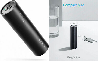 AU47.70 • Buy Anker PowerCore 5000 Portable Charger, Ultra-Compact Power Bank With Black