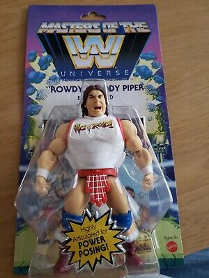 $35 • Buy Masters Of The WWE Universe Wave 5 Rowdy Roddy Piper New In Hand!