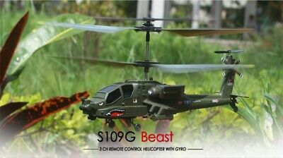 £40.48 • Buy S109G 3.5CH Beast Infrared Remote Control RC Helicopter Military Model Kids Toy