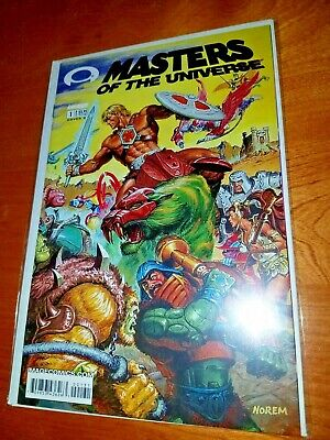 $5.99 • Buy Masters Of The Universe # 1 Gold Foil Edition EARLY IMAGE VF/NM HOT!