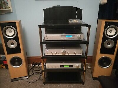 Cambridge Audio Complete Hifi System, Amp, CD, DAB Tuner, Speakers, All Cabling • 400£