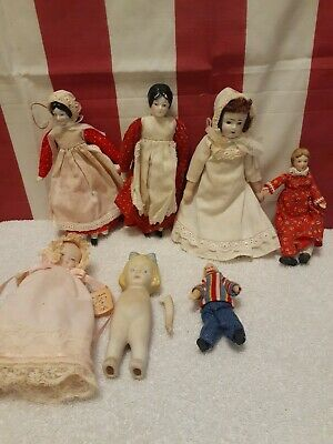 $ CDN25.25 • Buy Vintage Porcelain Doll Lot Of 7