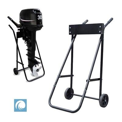 AU113.21 • Buy Outboard Motor Trolley Stand For Boat RIB Engine. Heavy Duty 70kg Load Capacity