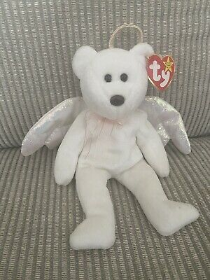 £2100 • Buy RARE TY Beanie Baby - Halo 1998 With Rare Brown Nose - Retired, Tag Still On
