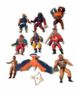 $53.48 • Buy Masters Of The Universe Lot 9 ORIGINAL Action Figure Lot Plus Accesories