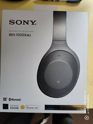 Sony WH-1000XM2 Bluetooth Wireless Noise Cancelling Stereo Headphones - Black  • 47£