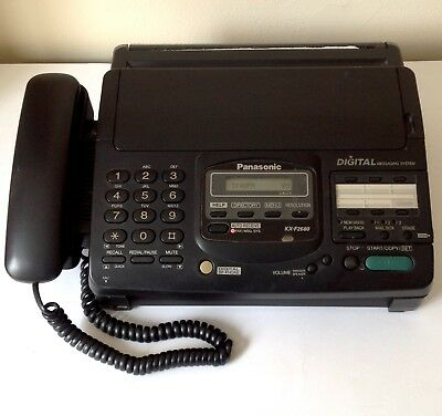 Home Telephone And Fax Machine - Model: Panasonic KX-F2680  For Spare Parts Only • 32£