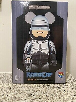$175 • Buy Medicom Toy Robocop 400% +100%  Bearbrick Be@rbrick 2pcs Set