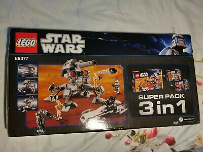 Star Wars Lego Set 66377. New And Unopened. Now Discontinued. • 50£