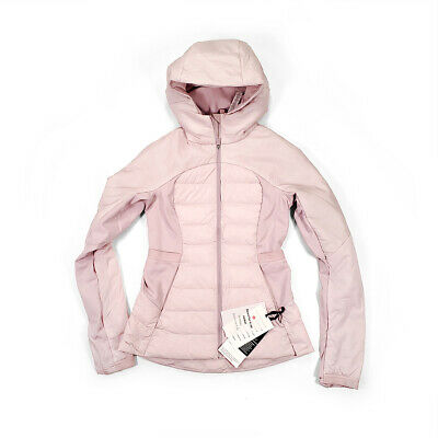 $ CDN169 • Buy NWT [Size 12] Lululemon Womens Down For It All Jacket Porcelain Pink