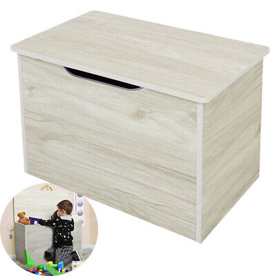Large Toy Box Kids Childrens Wooden Toy Box, Storage Unit, Chest, Organiser UK • 29.99£