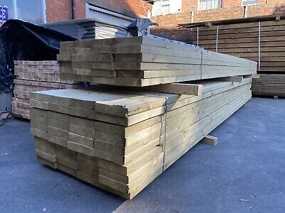 """£19.30 • Buy 8x2"""" Timber C16 UnTreated Length 4.5m - Bulk Buy Available"""