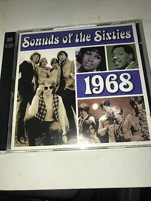 Sounds Of The Sixties - 1968 - Time Life Music - 2cd Set • 12£