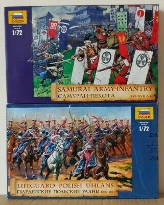 2 Boxes Of Zvezda  1:72 Scale Unpainted Figures  NEW • 18£